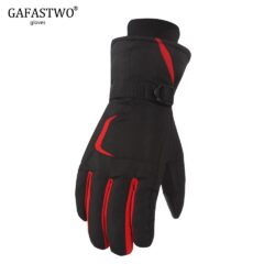 New Winter Warm Thick Coldproof Ski Gloves Men Women Touch Screen Waterproof Windproof Outdoor Riding Cotton